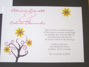 Handmade Wedding Invitation Quotes