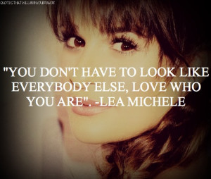 ... lea michele quotes quotes glee glee cast rachel berry inspiring