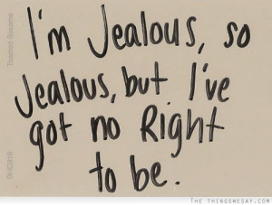 1391 Im Jealous Quotes