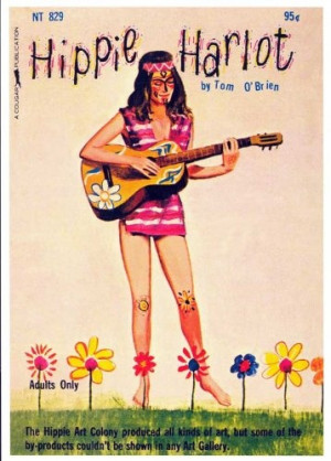 sometimes i wish i could be a hippie