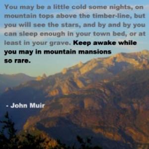 John Muir Wilderness | John Muir Quotes