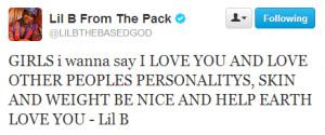 Lil B Twitter