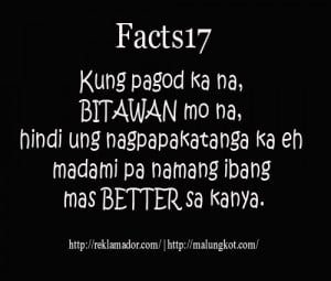 facts17 Tagalog Quotes To Move on and More Love Love Love Quotes