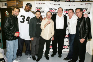 The late Patrice O'Neal (#34), pictured here with Artie Lange, Dave ...