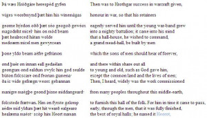 summary of Lines 710-1007 in Beowulf. . Beowulf. Lines 710-1007 ...
