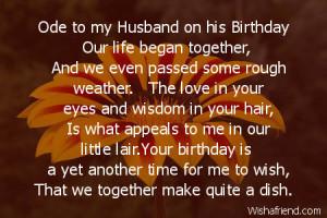 Verwandte Suchanfragen zu Happy birthday love poem for my husband