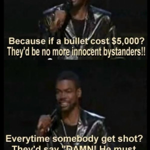 Chris Rock Stand Up On Gun Control