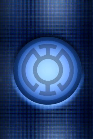 Blue Lantern Background Kalel
