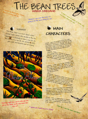 ... many important characters of The Bean Trees. (Click to enlarge