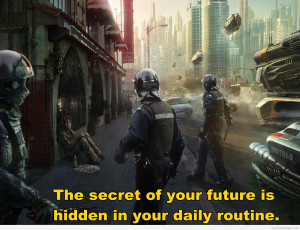 Police officers wallpaper future quote