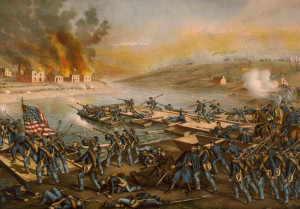 Battle of Fredericksburg by Kurz & Allison - Courtesy of Wikipedia]