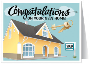 ... home purchase card inside verse we hope you are enjoying your new home