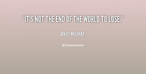 The End Not Okay Love Quote