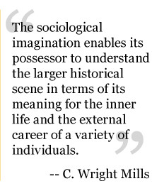 promise sociology c wright mills The sociological imagination excerpt from chapter one: the promise c wright mills (1959) nowadays people often feel that their private lives are a series of traps.