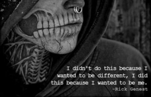 rick genest quote