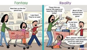 Back To School Shopping: Fantasy Vs. Reality | More LOLs & Funny Stuff ...