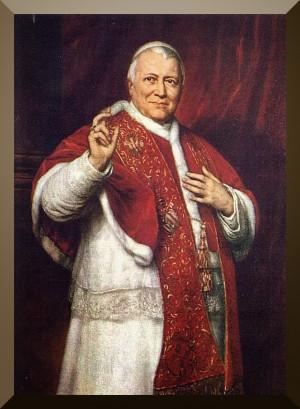 Saint Quote: Pope Blessed Pius IX