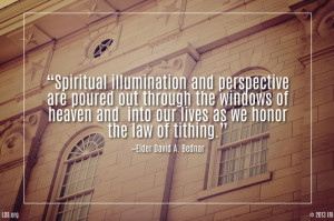 Blessings of Tithing