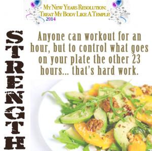 Motivation Monday – Strength + New Year Resolution