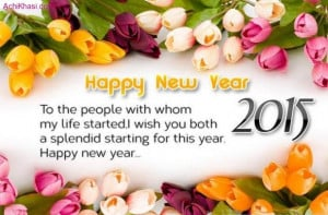 Happy New year 2015 Wishes for Facebook Status