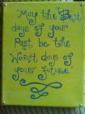Canvas quote...