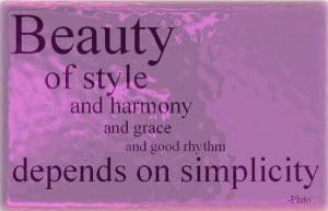 Beauty of style Beauty Quotes