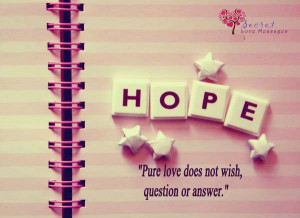 pure-love-does-not-wish-question-or-answer