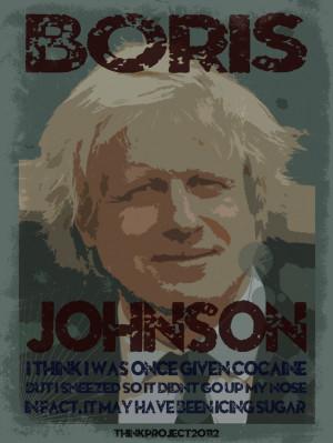 Boris Johnson Cake Quote