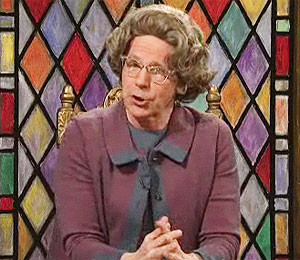 Dana Carvey as Church Lady on Saturday Night Live. ../ Submitted photo