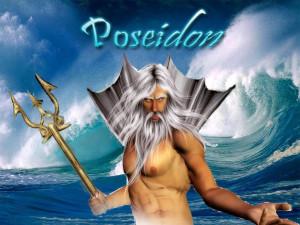God Poseidon Mytheon Wallpaper