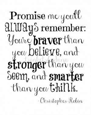 Christopher Robin Quote...