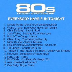80s Song Quotes Life - 80s music explosion