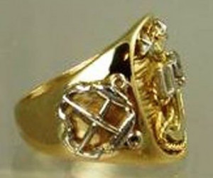 Custom Made Navy Chief Petty Officer Ring