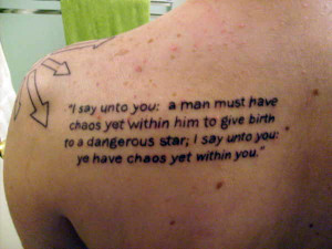 25 Glorious Love Tattoo Quotes