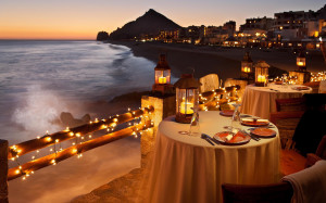 Beach Candlelight Dinner Wallpapers Pictures Photos Images