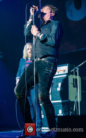 Picture Jay Buchanan and Rival Sons at Wembley Arena London United