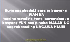 Inspirational Sad Love Quotes Tagalog #3