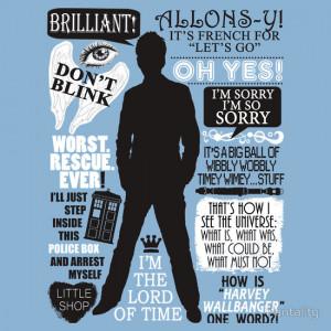 Doctor Who 10th Doctor Quotes Doctor Who 10th Doctor