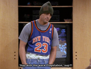 Go Back > Gallery For > Joey Tribbiani Air Quotes