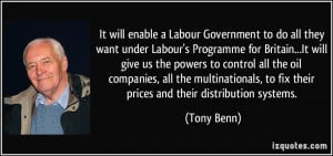 It will enable a Labour Government to do all they want under Labour's ...