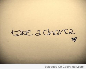 Luck Quotes and Sayings about chance