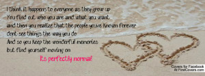 Nicholas Sparks quote Profile Facebook Covers