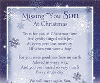 Missing My Son in Heaven at Christmas