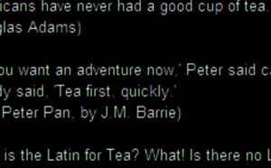 Tea Quotations 1
