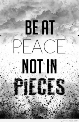 Inspirational peace quotes 2015 2016