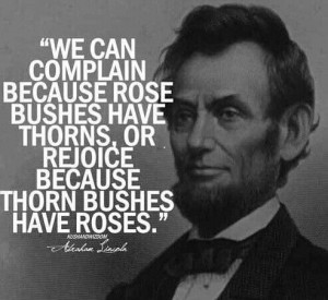 Well said Mr. President