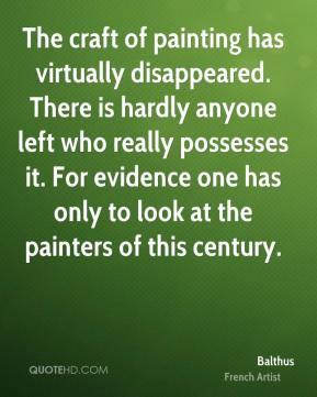 balthus quote