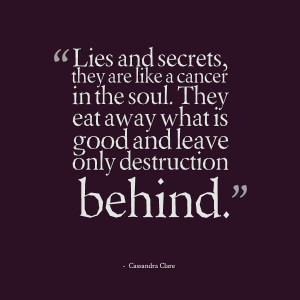 quotes about secrets and lies quotes about secrets and lies quotes ...