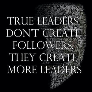 ... King Jr., John F Kennedy…We all agree these are great leaders