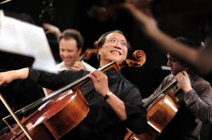 Yo Yo MA and Wife